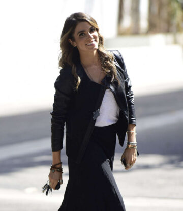 Nikki Reed Out Shopping Beverly Boulevard Los Angeles