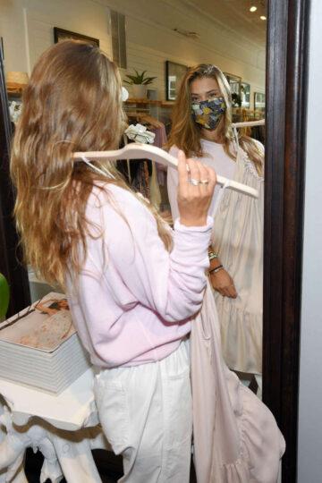 Nina Agdal Shopping Unsubscribed New York