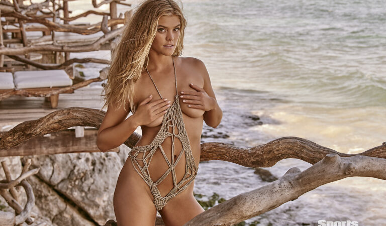 Nina Agdal Sports Illustrated Swimsuit 2017 Adds (1 photo)