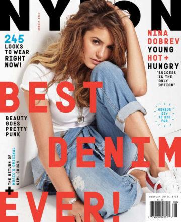 Nina Dobrev Nylon Magazine August 2014 Issue