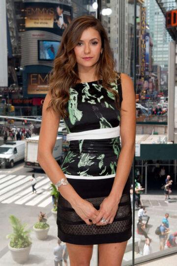 Nina Dobrev Set Extra New York