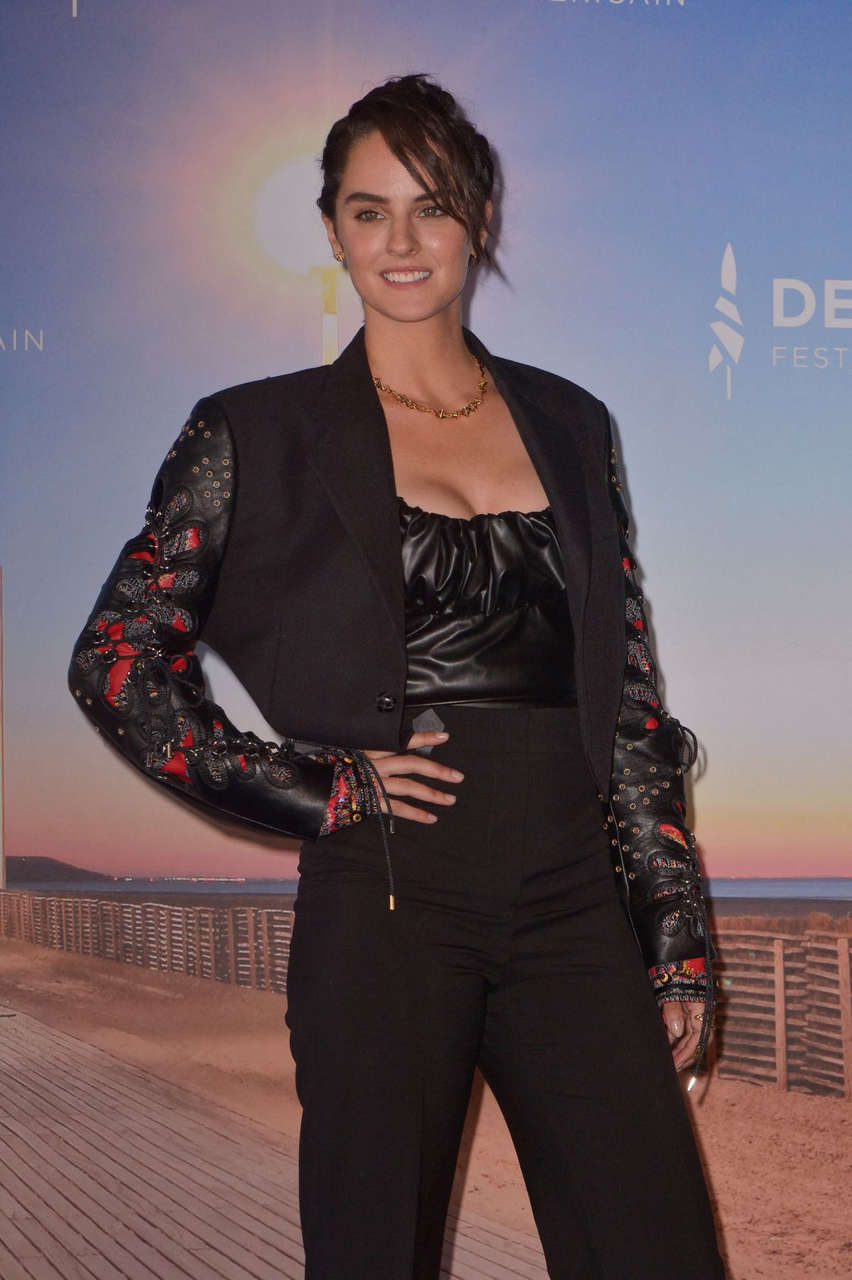 Noemie Merlant Good Man Photocall 2020 Deauville American Film Festival