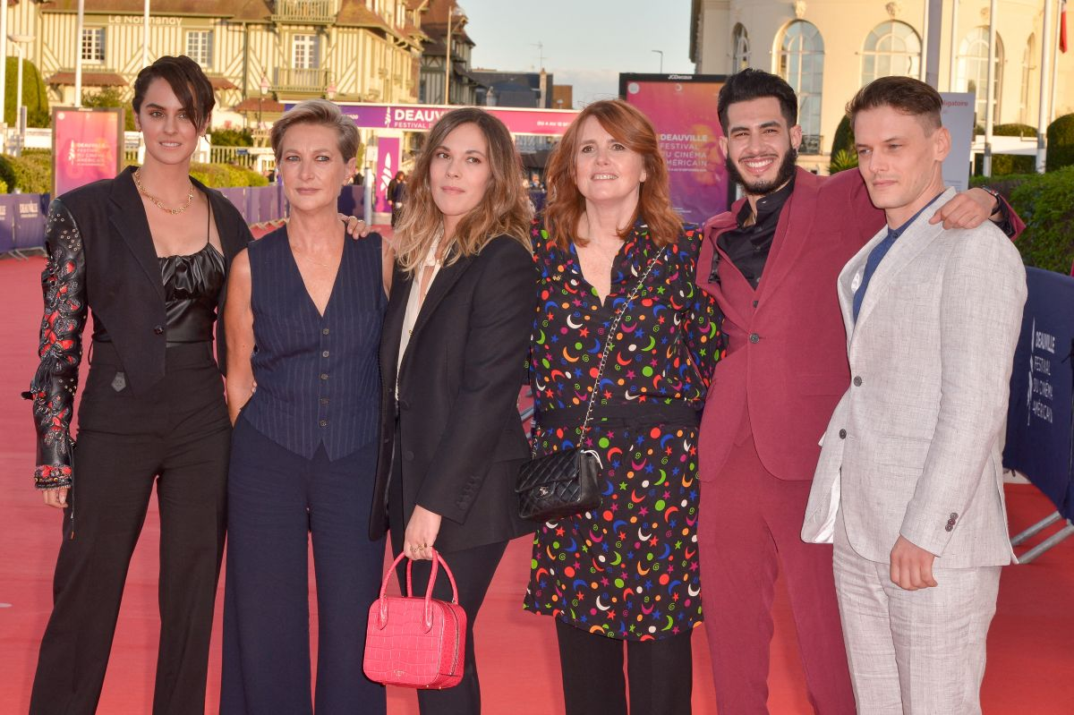 Noemie Merlant Les Deux Alfred Premiere 46th Deauville American Film Festival