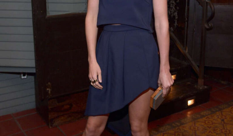 Obie Smulders Vanity Fair Fiat Young Hollywood Party Los Angeles (3 photos)