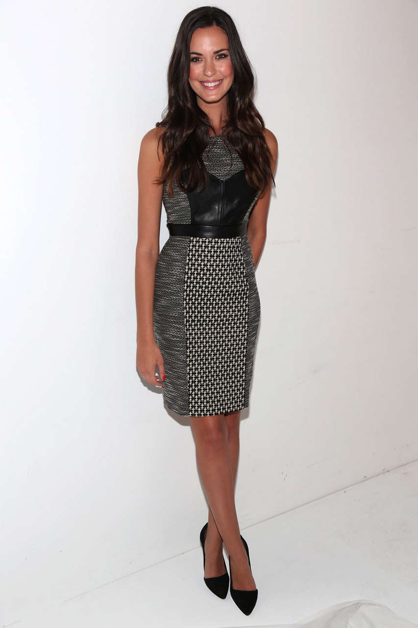 Odette Annable Tracy Reese Fashion Show New York