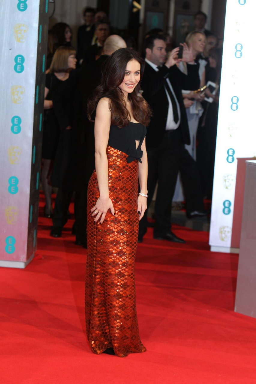 Olga Kurylenko 2014 Bafta Awards London