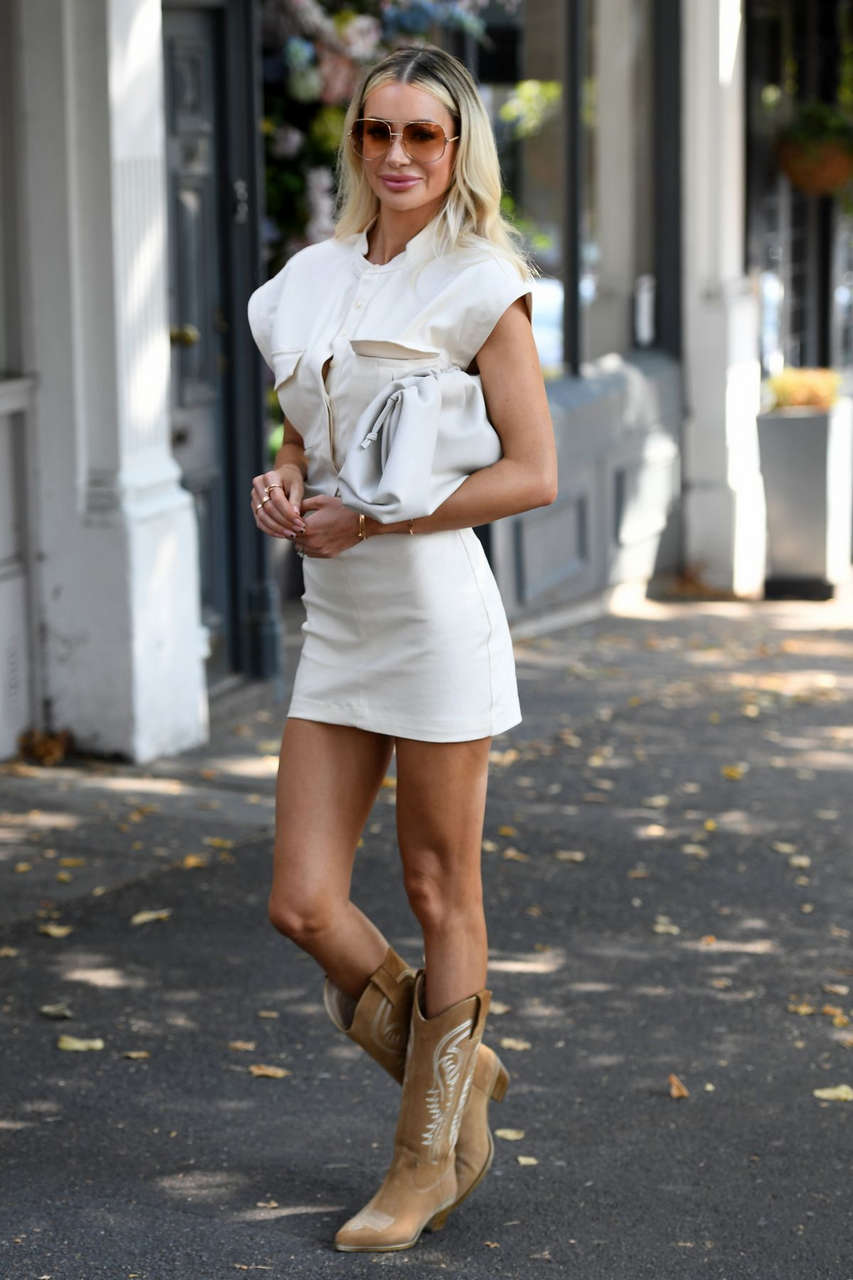 Olivia Attwood Out About London