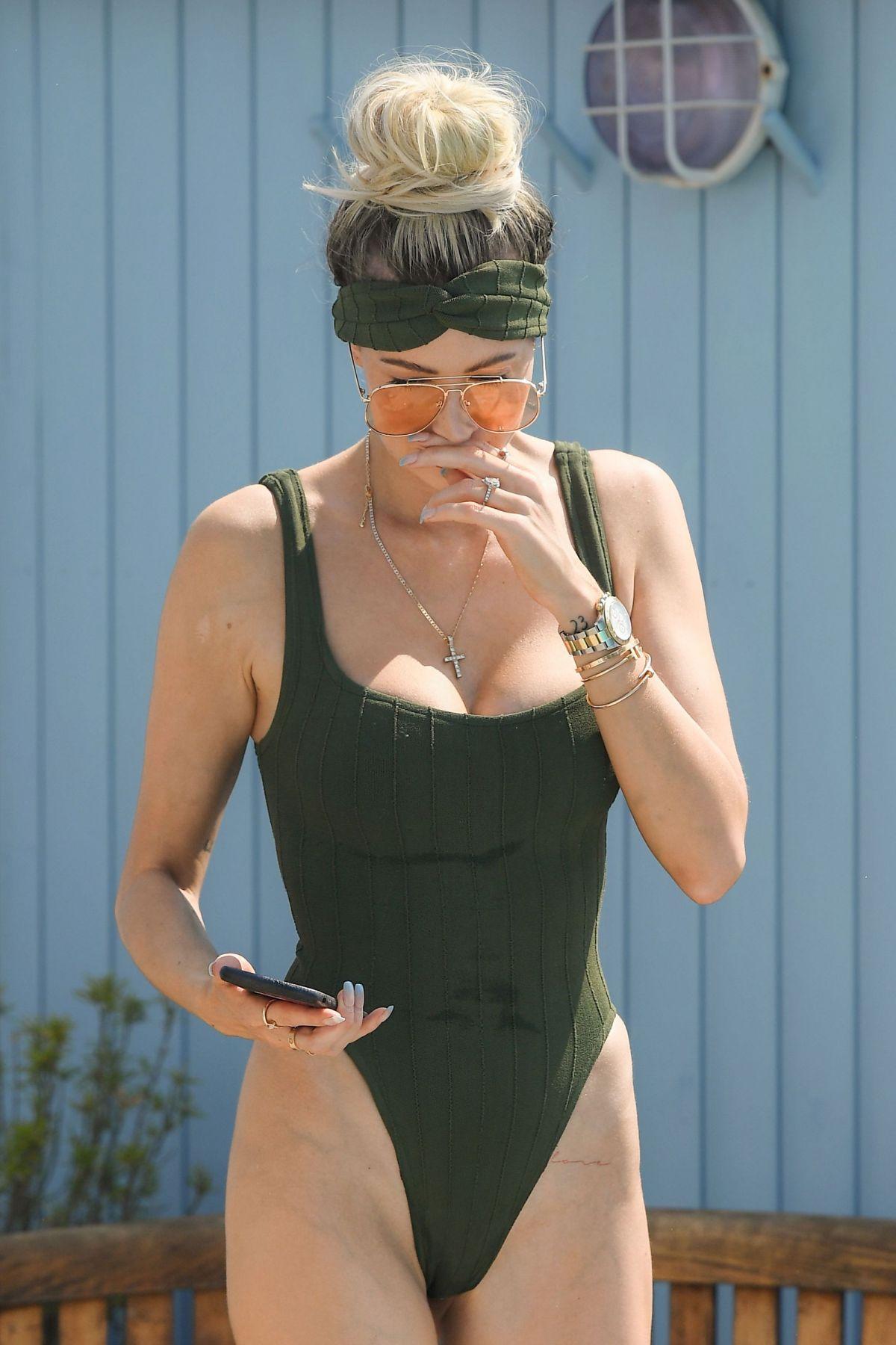 Olivia Attwood Swimsuit Set Towie Essex