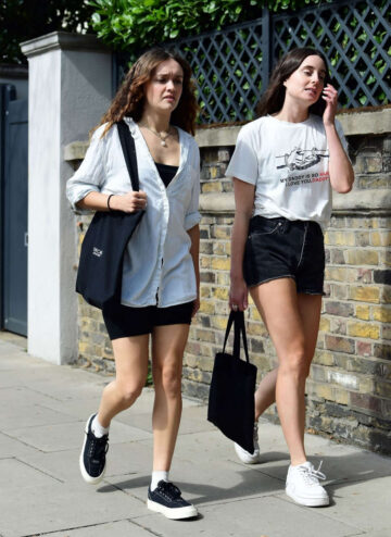 Olivia Cooke Out With Friend London