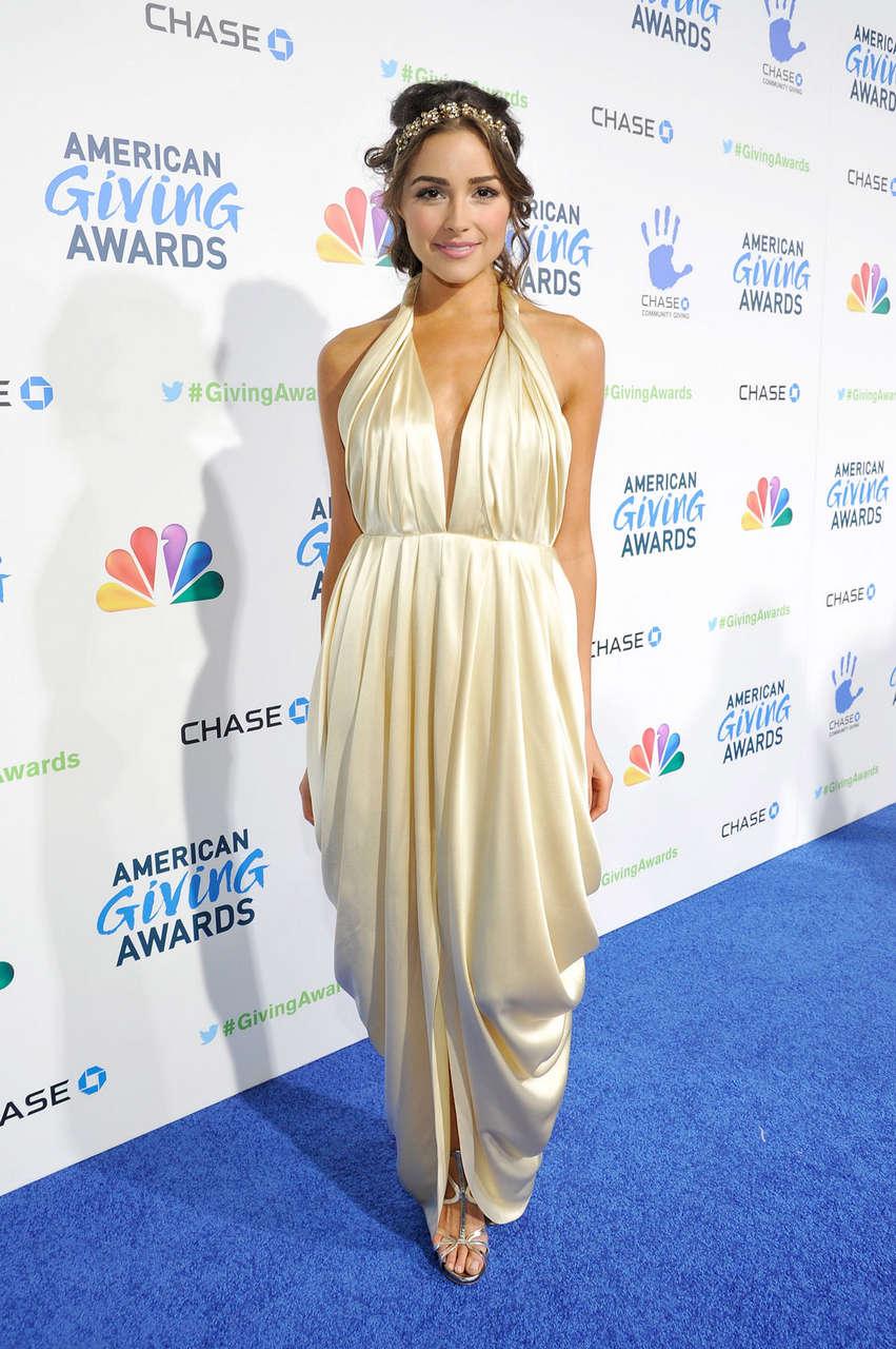Olivia Culpo American Giving Awards Pasadena