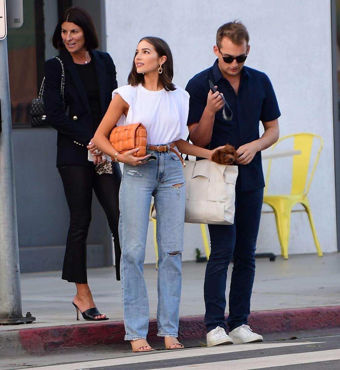 Olivia Culpo Out For Dinner Santa Monica