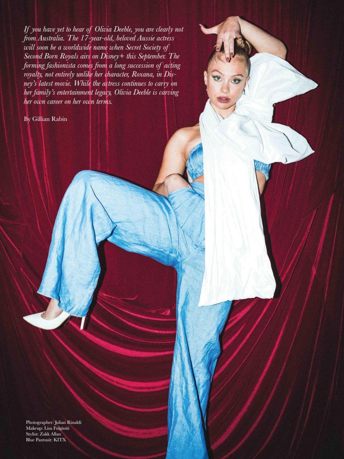 Olivia Deeble Bode Magazine August
