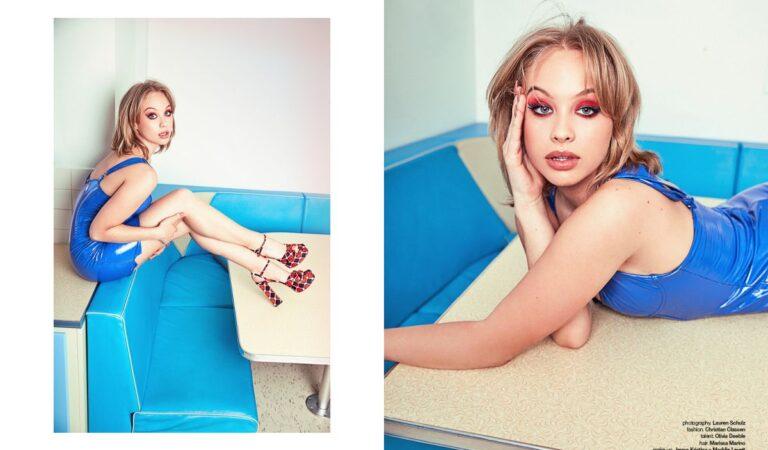 Olivia Deeble For Schon Magazine August (3 photos)