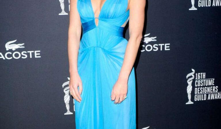 Olivia Munn 2014 Costume Designers Guild Awards Beverly Hills (10 photos)