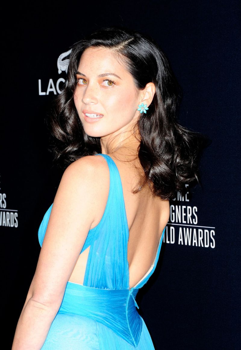 Olivia Munn 2014 Costume Designers Guild Awards Beverly Hills