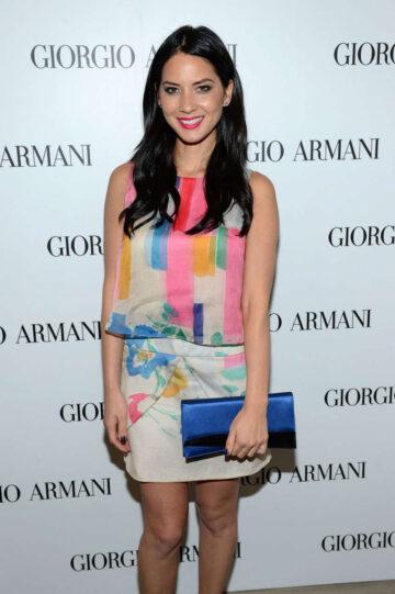Olivia Munn Giorgio Armani Beauty Luncheon Beverly Hills