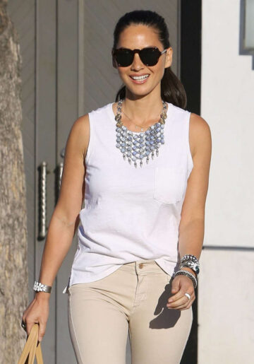 Olivia Munn Out About Beverly Hills