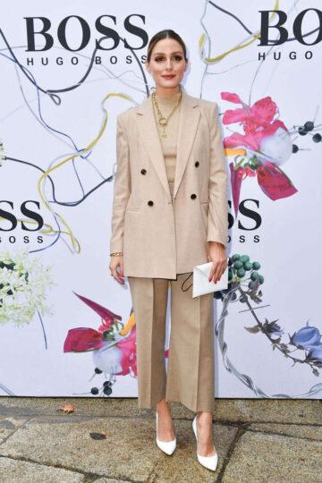 Olivia Palermo Hugo Boss Show Milan Fashion Week