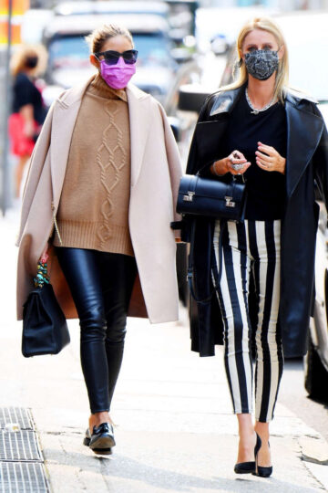 Olivia Palermo Nicky Hilton Out Llunch New York