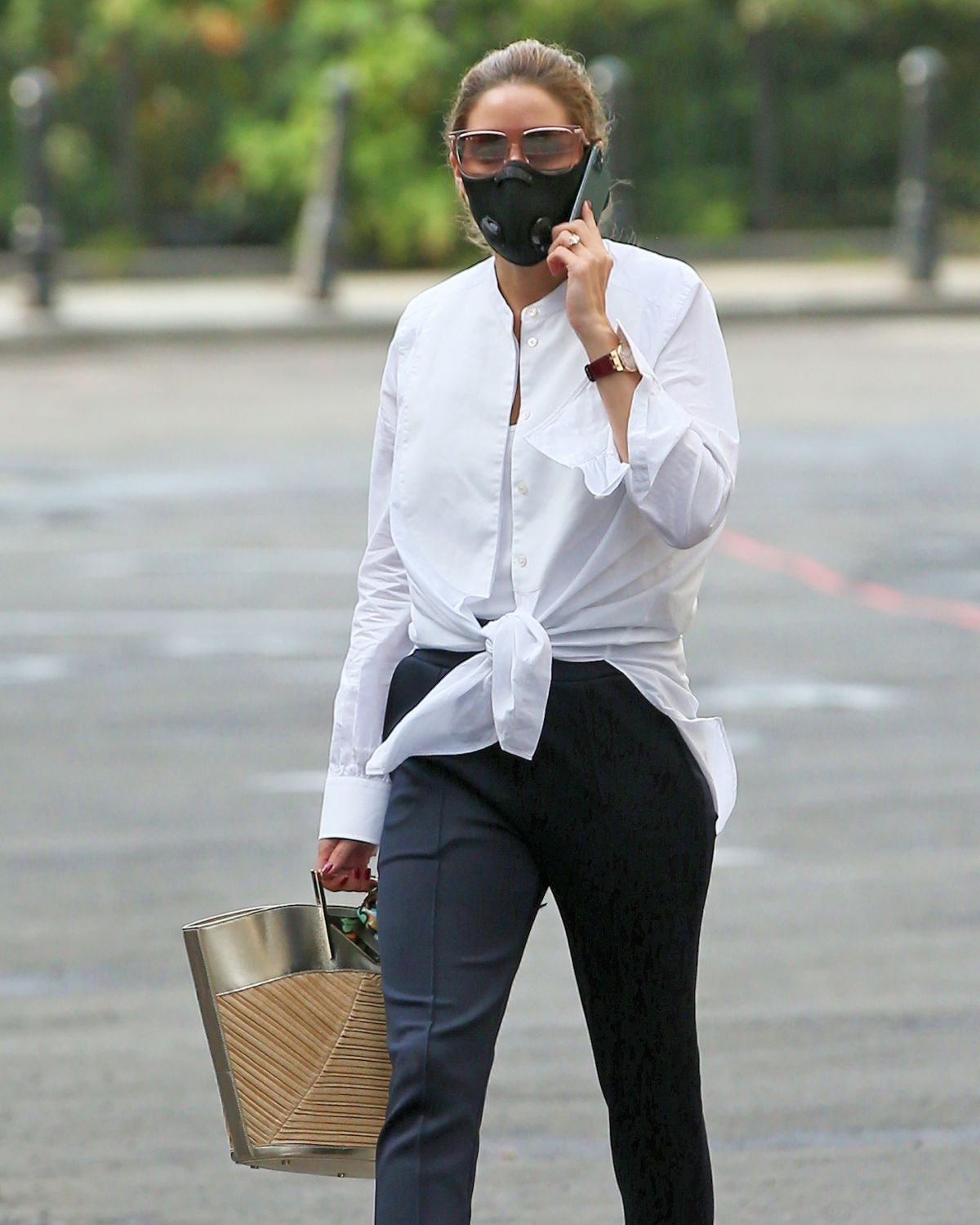 Olivia Palermo Out About New York