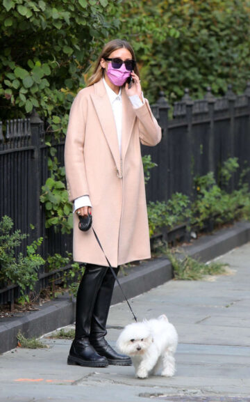 Olivia Palermo Out With Mr Butler New York