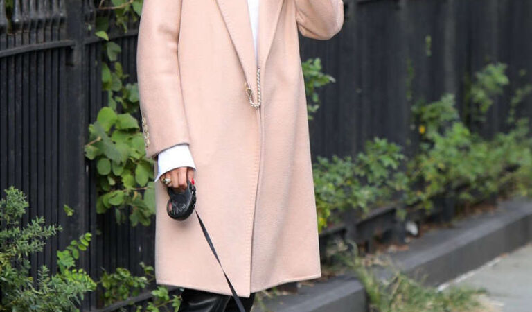 Olivia Palermo Out With Mr Butler New York (10 photos)