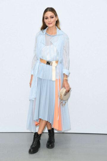 Olivia Palermo Sportmax Fashion Show Milan
