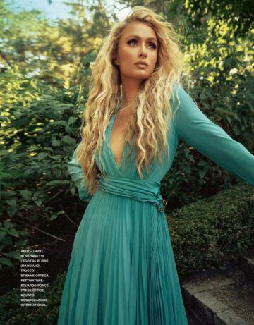 Paris Hilton Grazia Magazine Italy September