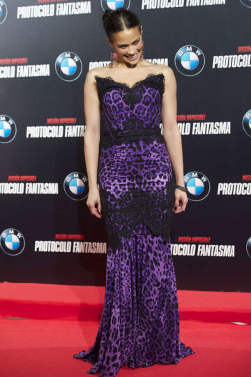 Paula Patton Mission Impossible Ghost Protocol Premiere Madrid Spain