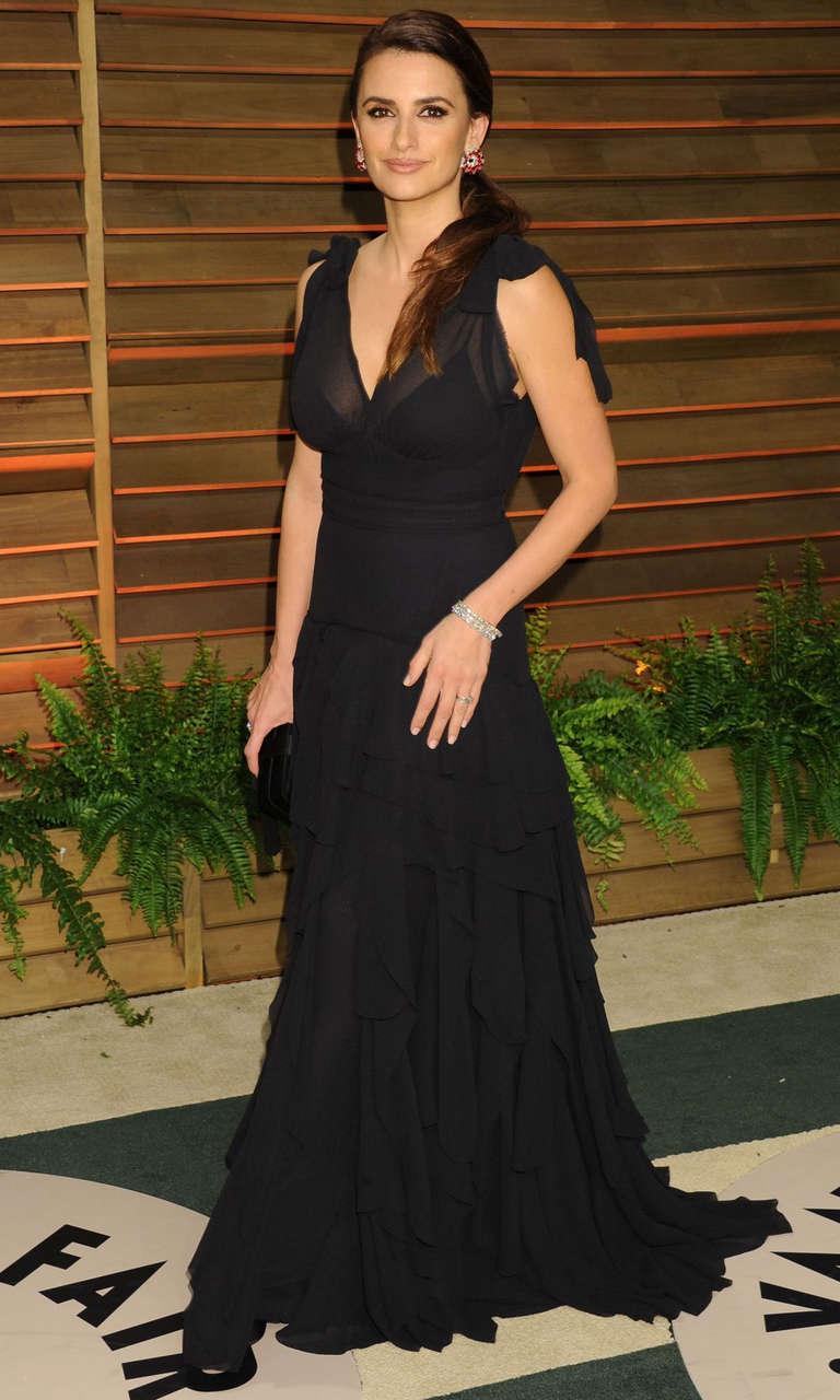 Penelope Cruz Vanity Fair Oscar Party Hollywood