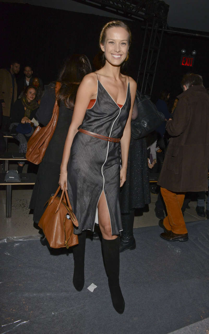Petra Nemcova Colin Farrell Edun Fashion Show New York