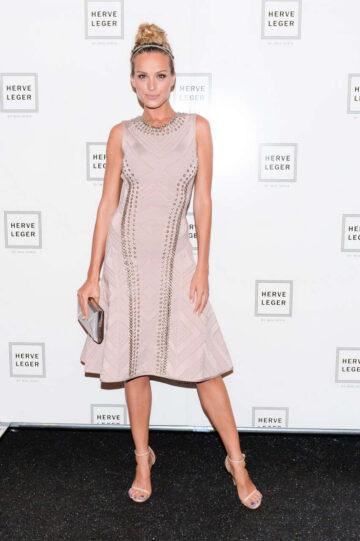 Petra Nemcova Herve Leger By Max Azria Fashion Show New York