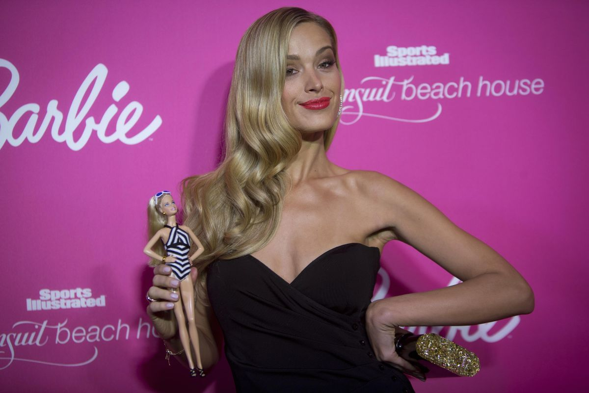 Petra Nemcova Sports Illustrated Swimsuit 50th Anniversary Party
