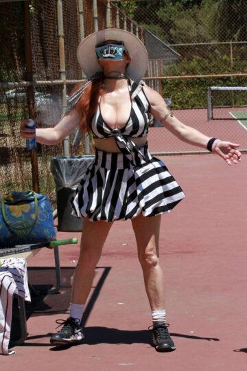 Phoebe Price Tennis Court Los Angeles