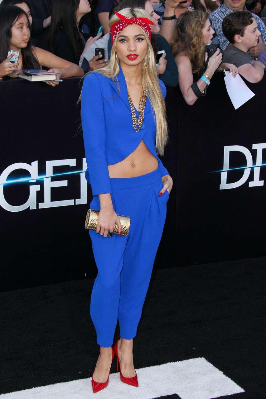 Pia Mia Perez Divergent Premiere Los Angeles