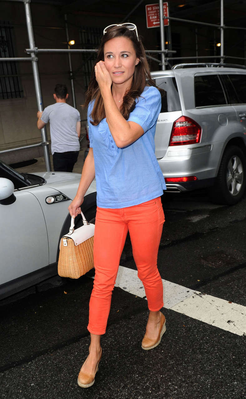 Pippa Middleton Out About New York