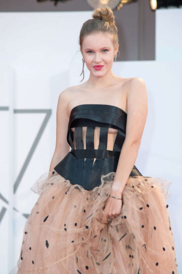 Polina Pushkareva Never Gonna Snow Again Premiere 77th Venice Film Festival