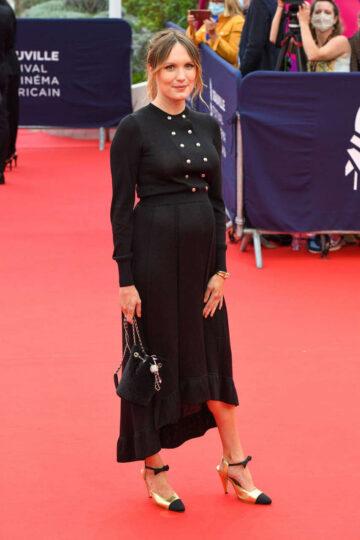 Pregnant Ana Girardot 46th Deauville American Film Festival Opening Ceremony