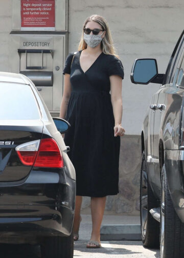 Pregnant April Love Geary Out Malibu