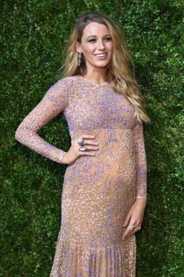 Pregnant Blake Lively Gods Love We Deliver Golden Heart Awards New York