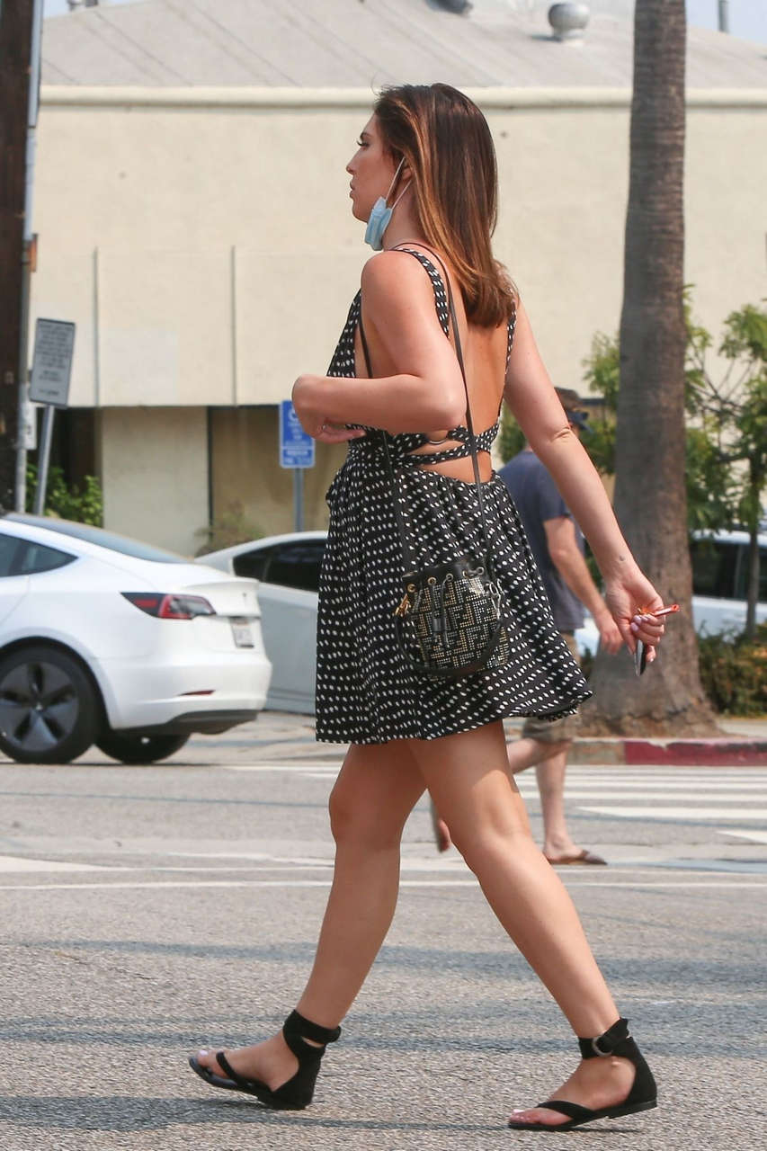 Pregnant Brittny Ward Out Pacific Palisades
