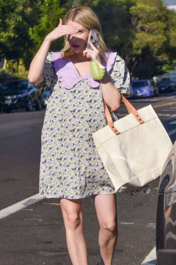 Pregnant Emma Roberts Out About Los Angeles