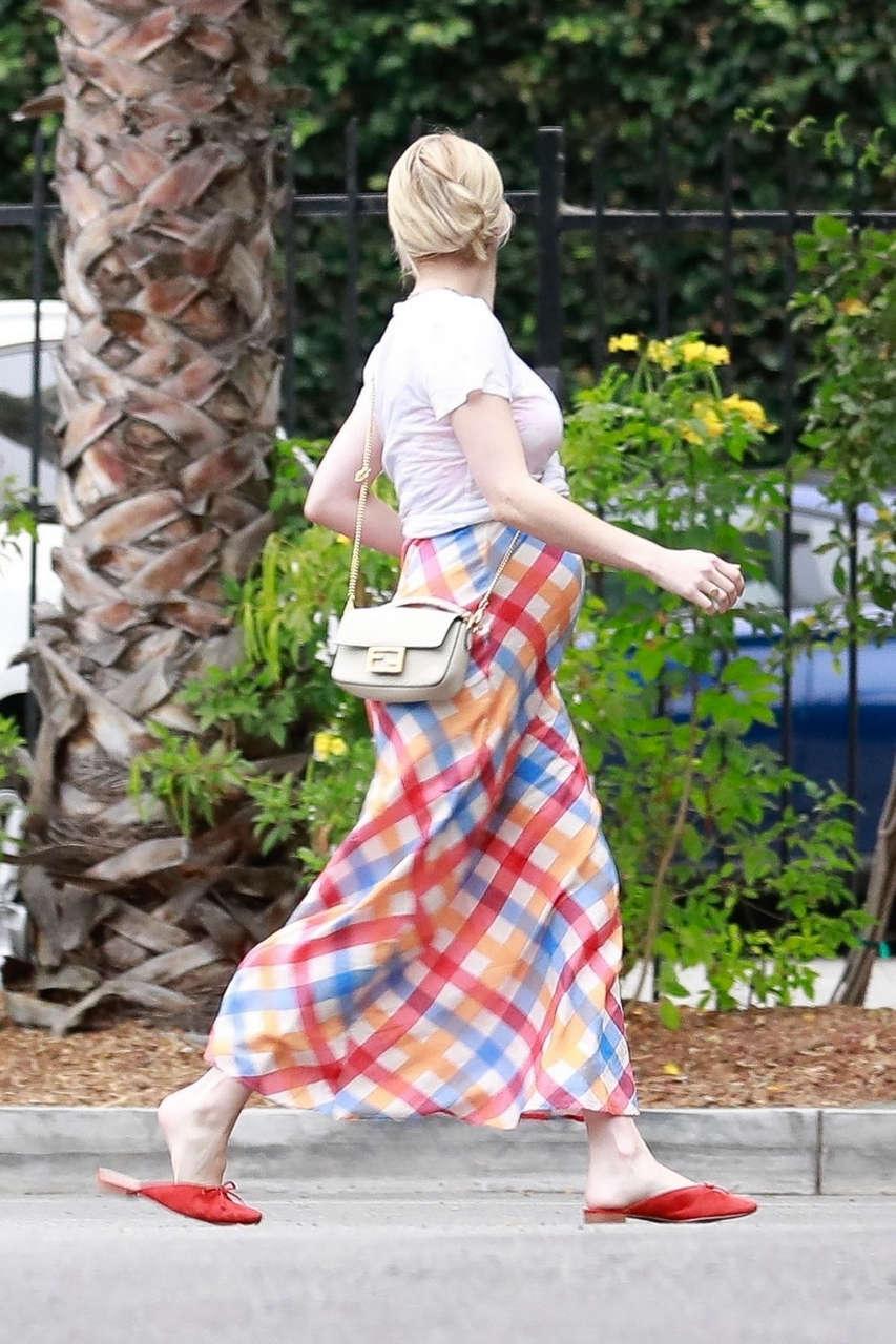 Pregnant Emma Roberts Out About Los Feliz