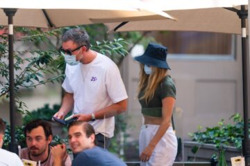 Pregnant Jennifer Lawrence Cooke Maroney Out New York