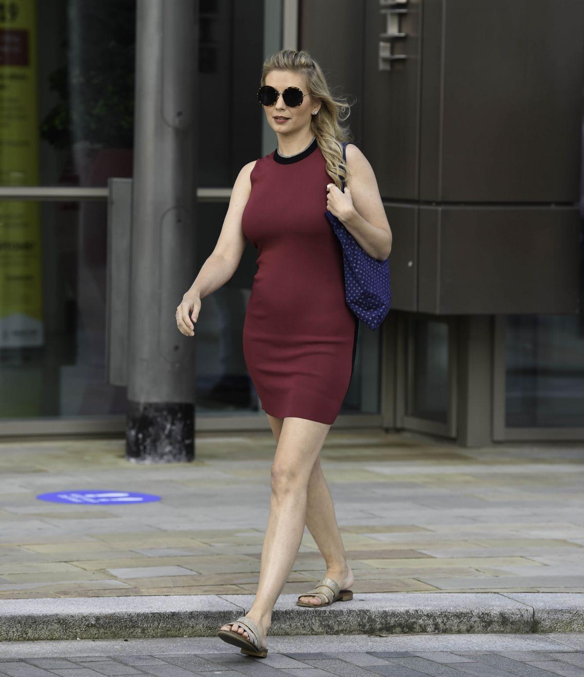 Rachel Riley Leaves Mediacity Salford Quays