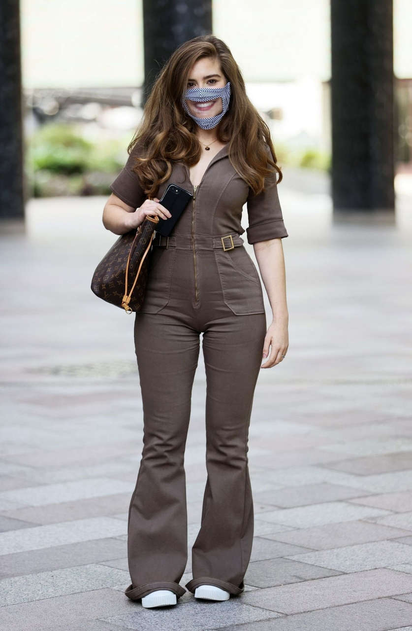 Rachel Shenton Arrives Sunday Brunch Tv London