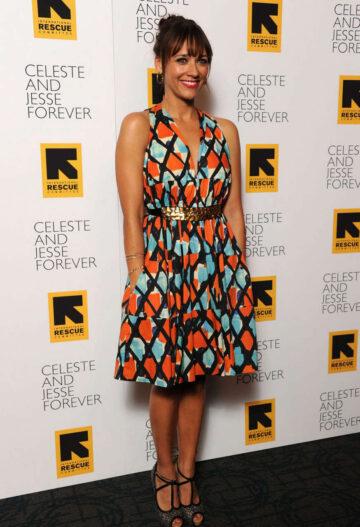 Rashida Jones Celeste Jesse Forever Premiere New York