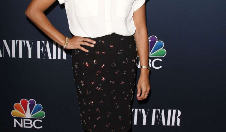 Rashida Jones Nbc Vanity Fair 2014 2015 Tv Season Party West Hollywood (25 photos)