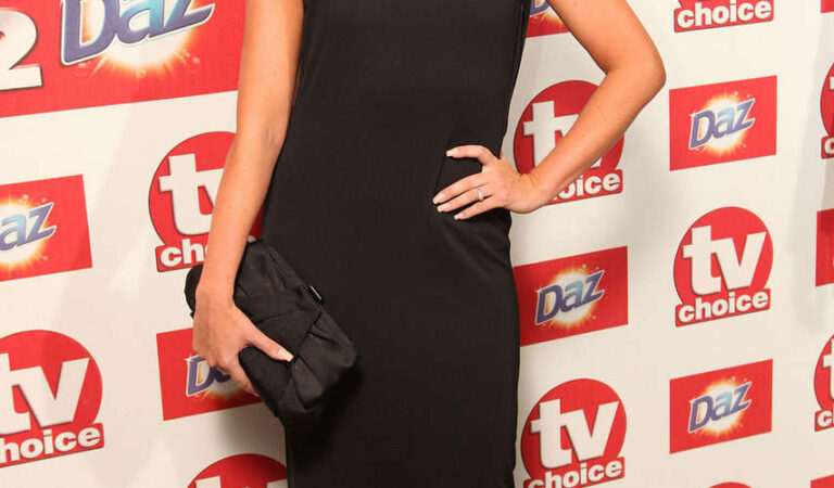 Rebecca Atkinson 2012 Tv Choice Awards London (4 photos)