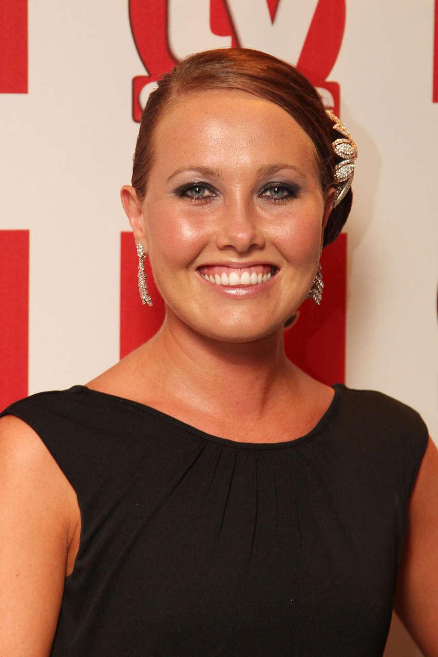 Rebecca Atkinson 2012 Tv Choice Awards London